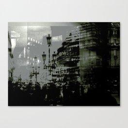 1st arrondissement-gray Canvas Print