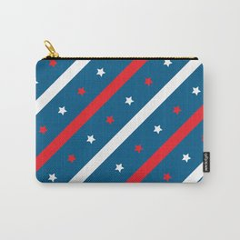 USA 4th july unque  flag  Carry-All Pouch