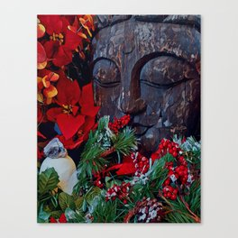 Christmas zen Canvas Print