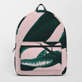 Ficus Elastica Blush Green Vibes #1 #foliage #decor #art #society6 Backpack