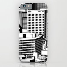 Hong Kong Black and White iPhone 6s Slim Case