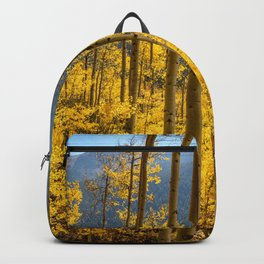 Aspen Autumn Forest 7450 - Aspen, Colorado Backpack