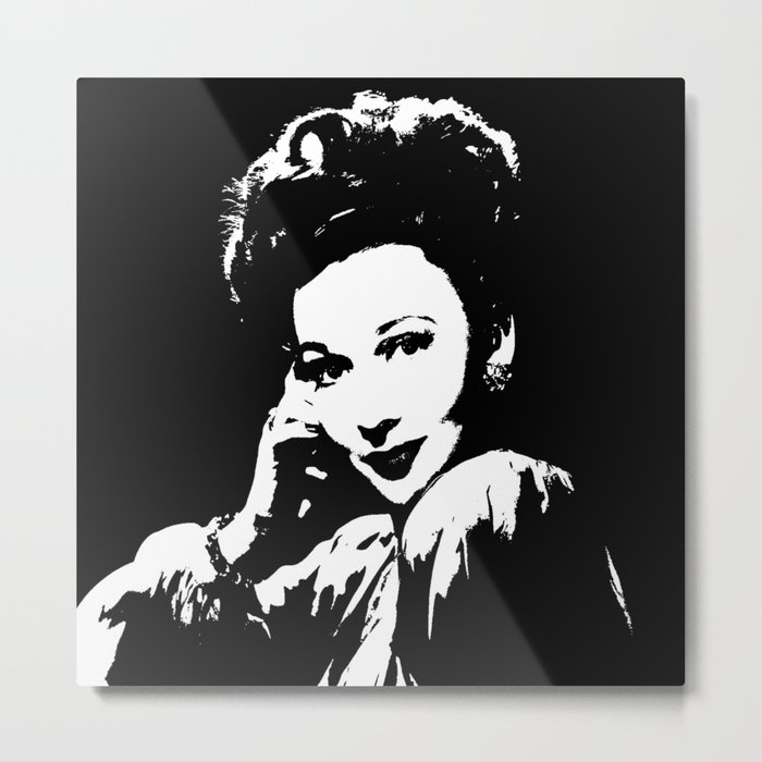 Carole Landis Is Class Metal Print