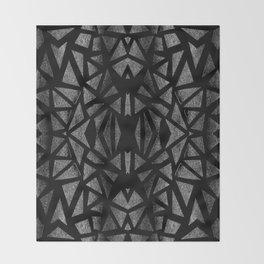 Ari's Silver Throw Blanket