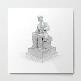 Hans Christian Andersen - Copenhagen Metal Print