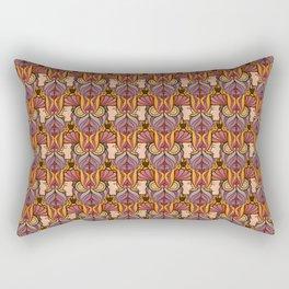 Art Nouveau Janus Rectangular Pillow