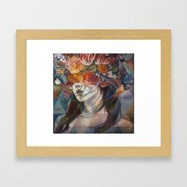 Midnight Muse Framed Art Print