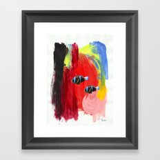Paint the Blues Away Oceanic Framed Art Print