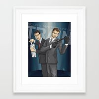 inception Framed Art Prints featuring Inception by Michael Duhamel