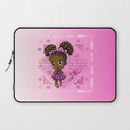 Cute African American Girl Laptop Sleeve