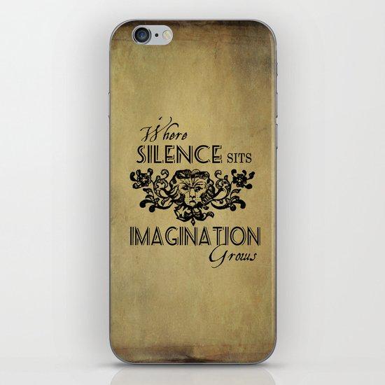 Where Silence Sits iPhone & iPod Skin
