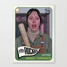 Wendy Torrance X The Shining Canvas Print