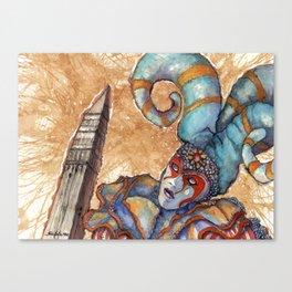 CIRCO DEL SOL Canvas Print