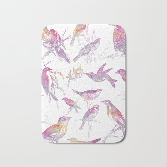If you're a bird, I'm a bird. Bath Mat