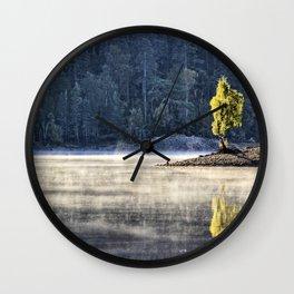 Glen Affric morning mood Wall Clock