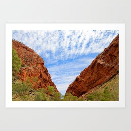 Vision of the Outback Art Print