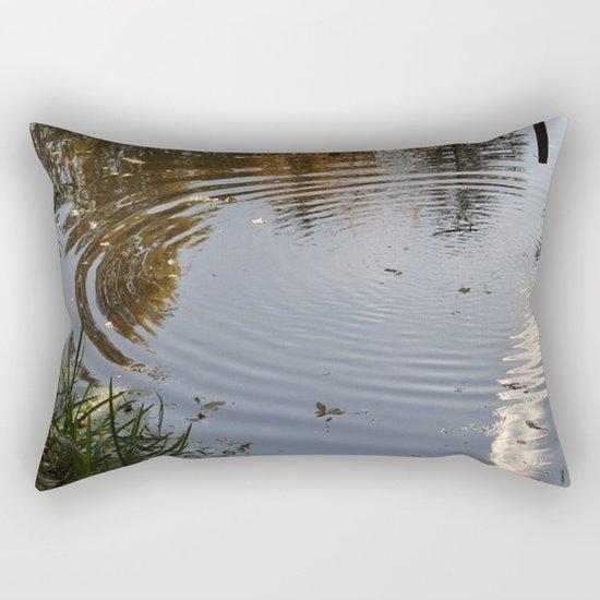 The Ripple  Rectangular Pillow
