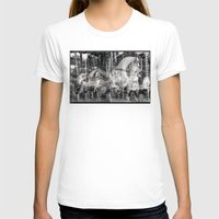 carousel T-shirts featuring Carousel by Ibbanez