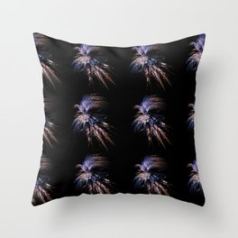 Feather firework Throw Pillow