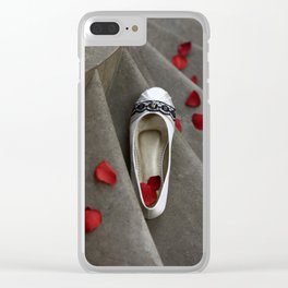 wedding shoes Clear iPhone Case