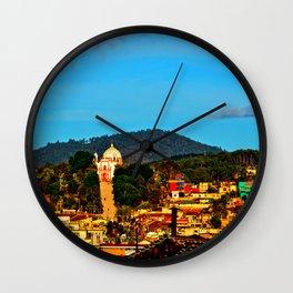 san cristobal de las casas Wall Clock