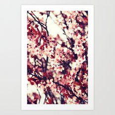 Pink Flowers - for iphone Art Print