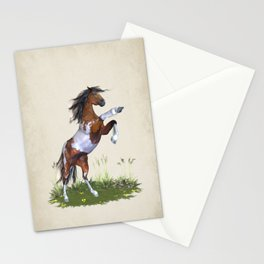 Rearing Horse Stationery Cards