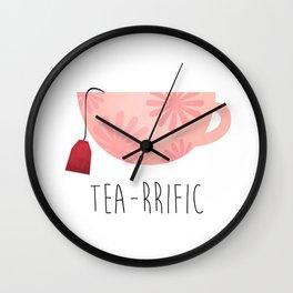 Tea-rrific Wall Clock