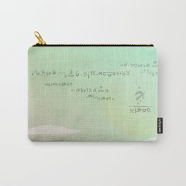 Land of Crystals Carry-All Pouch