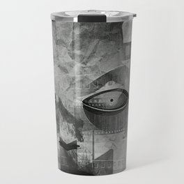 My Android Beauty, Robot, Art Deco, Modern, Travel Mug