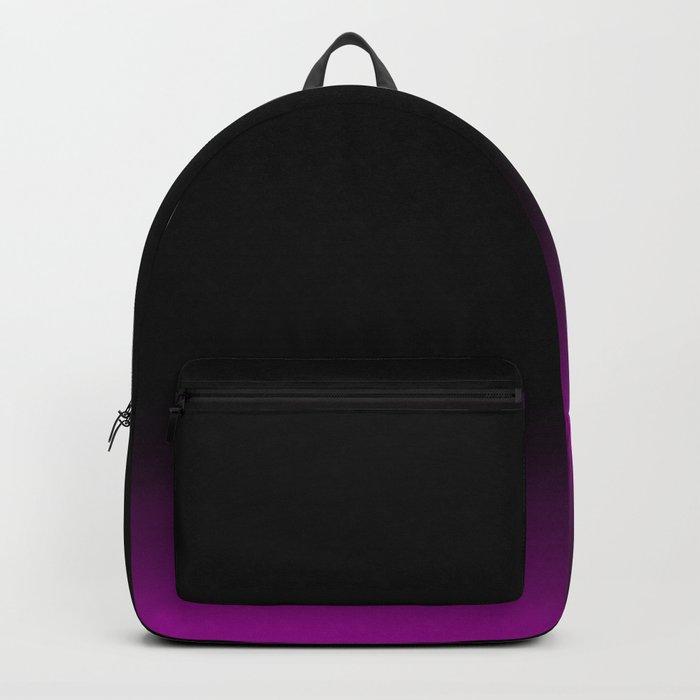 Black Pink Ombre Backpack