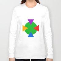 ninja turtle Long Sleeve T-shirts featuring Teenage Mutant Ninja Turtle Minimalist by The Fenix