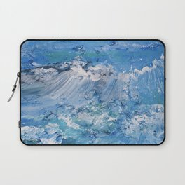 Crashing waves Laptop Sleeve