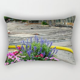 Beauty in the Middle of Disaster Rectangular Pillow