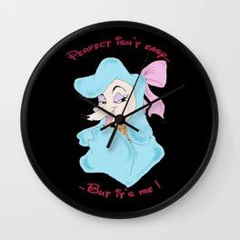 Perfect isn't Easy... Wall Clock
