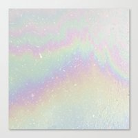 holographic Canvas Prints featuring Holographic! by Alisa Galitsyna