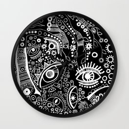 """""""The Watching Willow"""" Wall Clock"""