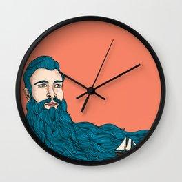 Él y el mar Wall Clock