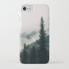 Over the Mountains and trough the Woods -  Forest Nature Photography iPhone Case