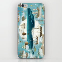 Ocean Meets Sky - option iPhone Skin