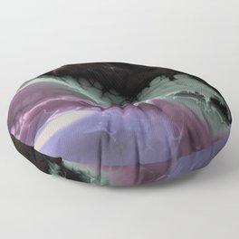 Mysterious Fractal  Floor Pillow