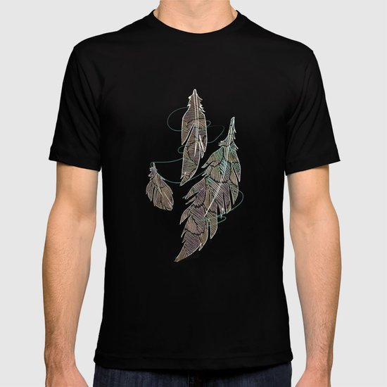 Feather Detail T-shirt