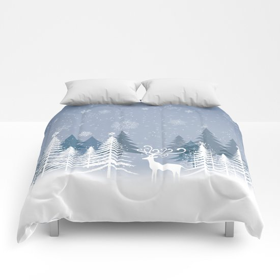 Lonely Winter Comforters