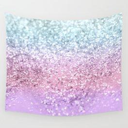 Unicorn Girls Glitter #4 #shiny #pastel #decor #art #society6 Wall Tapestry