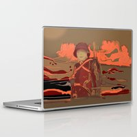 soldier Laptop & iPad Skins featuring Soldier ( drawing) by Ganech joe