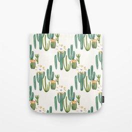 Cactus Desert Tote Bag
