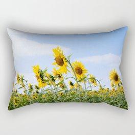 Summer fields Rectangular Pillow