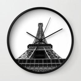 Tower Eiffel Wall Clock
