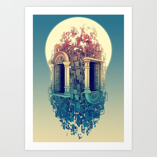 Within Art Print