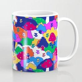 Trippy Hippie Hills Coffee Mug